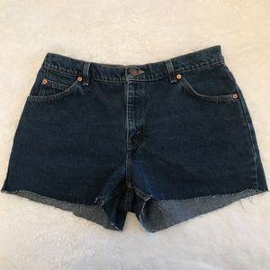 Levi denim cutoff shorts!